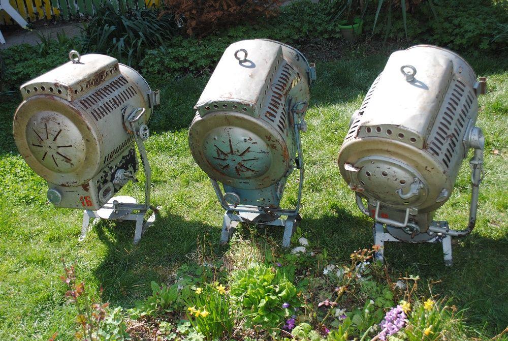 Стари, антични, индустриални лампи, прожектори