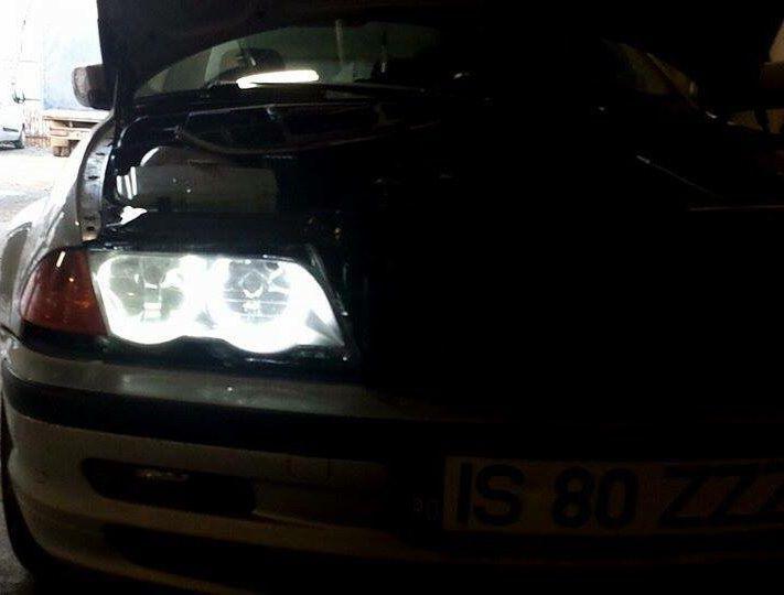 Kit Angel Eyes CCFL BMW E36 ,E39 , E46, E53 NOI