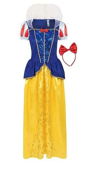 Costum/rochie noua Disney Alba ca Zapada adulti/Animatoare 36-38Anglia