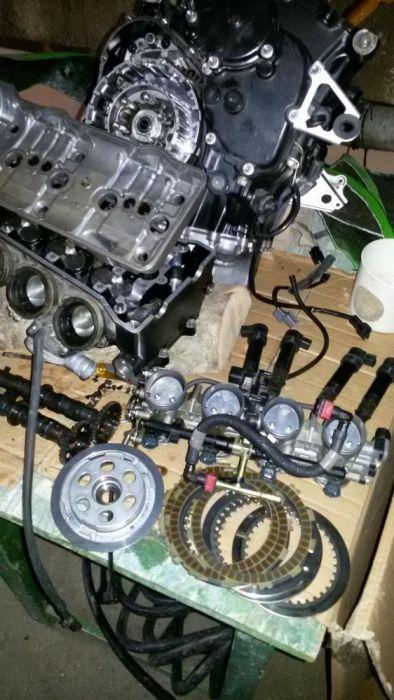Kawasaki zx6r 07 08