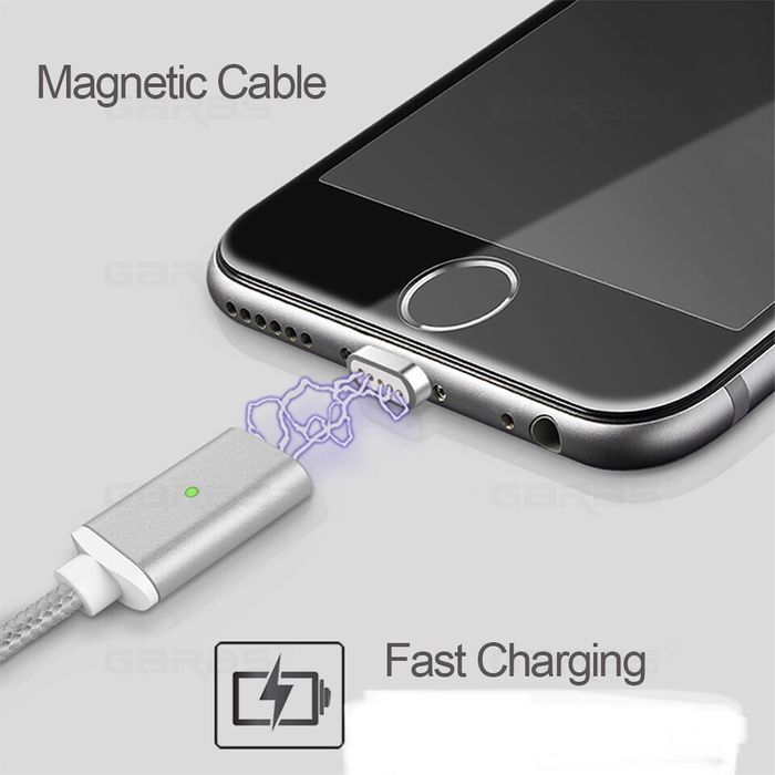 cablu date iPhone 5 6 7 8 si type c magnetic