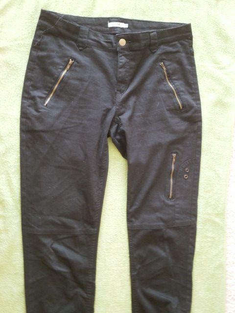 Дамски черни слим дънки KAFFE размер 28