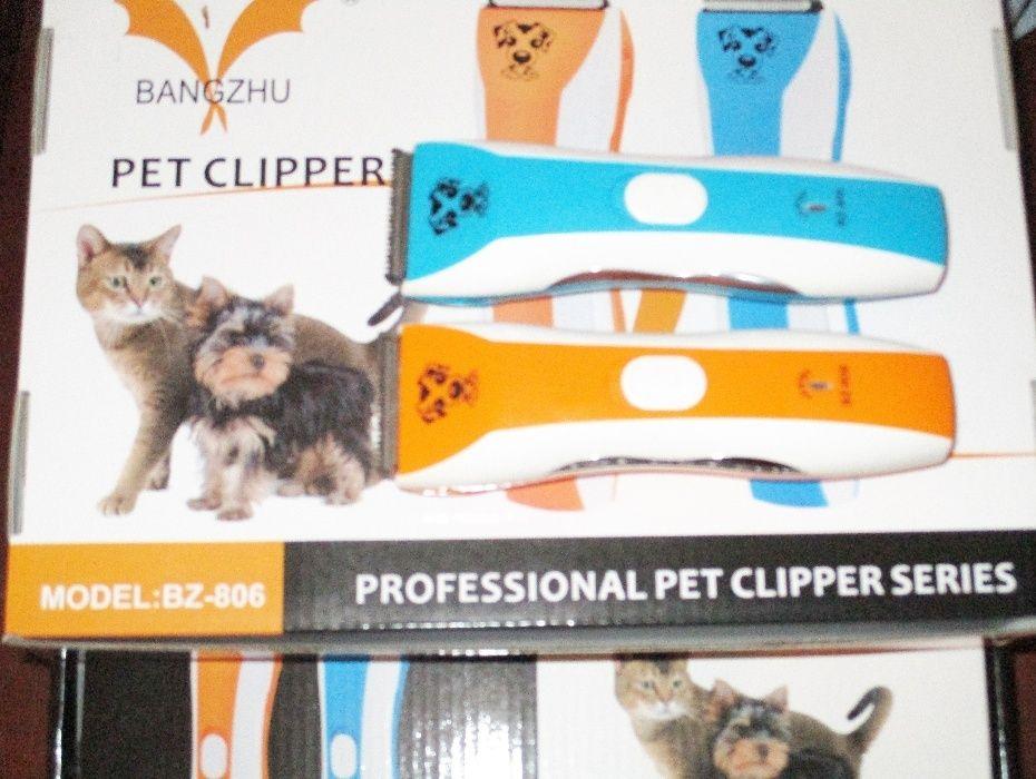 Masina tuns caini pisici Pet Clipper 2 modele cu acumulator intern