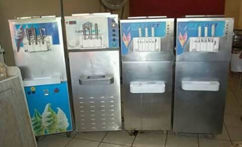 Maquina de gelado avemda