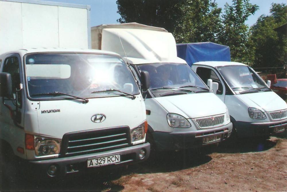 Грузовые газели и мебельные фургоны