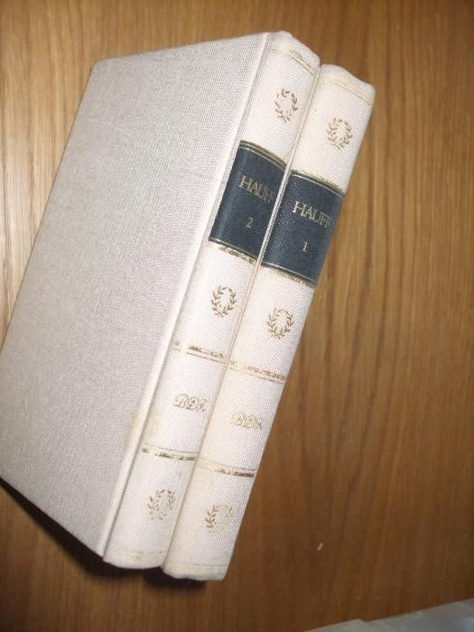 HAUFFS WERKE - IN ZWEI BANDEN - 1979, 397 + 409 p., lb. germana
