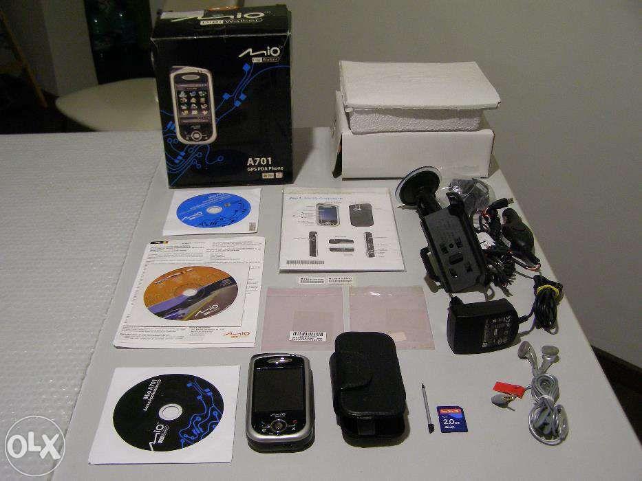 GPS-PDA cu telefon MIO A701