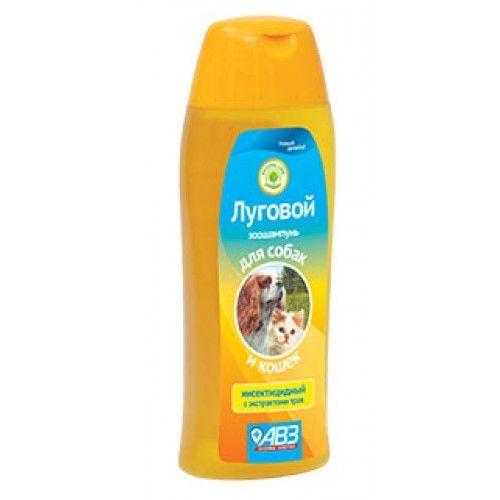 Луговой шампунь инсектицидный для собак и кошек, 270 мл