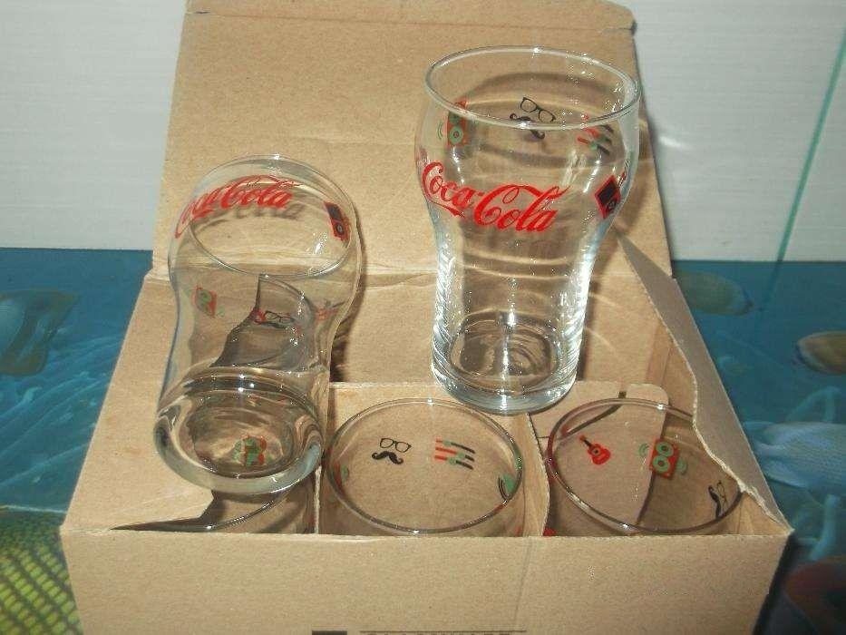 Set 6 Pahare Coca-Cola Noi !!!