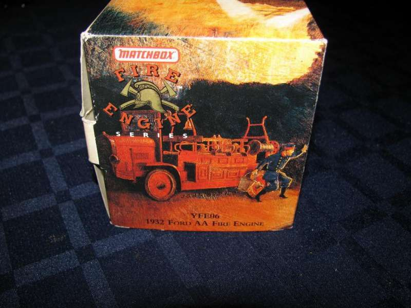 Пожарна 1932 Ford AA на Matchbox Models of Yesteryear