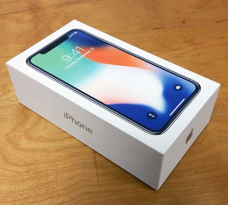 IPhone X 64GB Open Box Sealed
