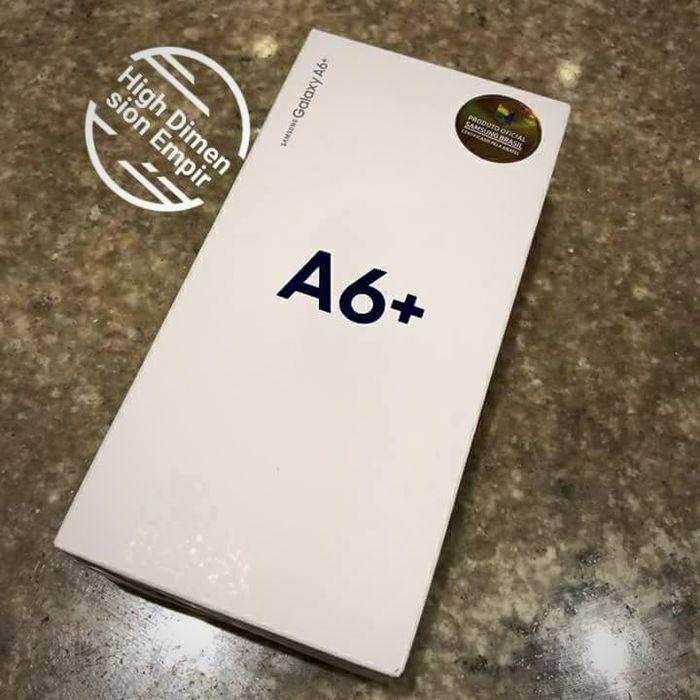 Samsung A6 Plus /novo na caixa.