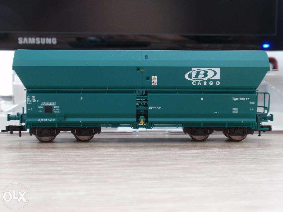 2 vagoane Fleischmann SNCB FALS scara H0 (16mm)