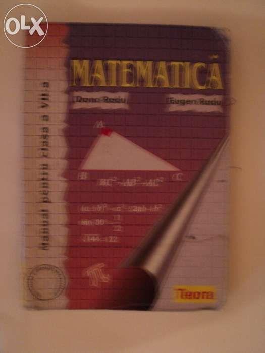 Manual Matematica cls aVII-a