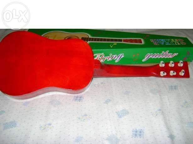 Chitara mica acustica pentru copii- produs nou Bucuresti - imagine 8