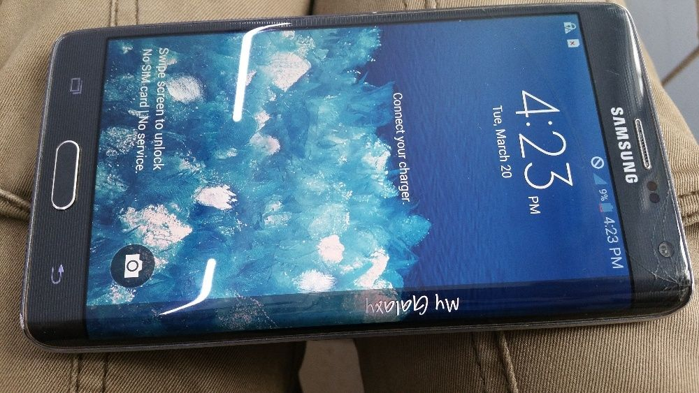 Display Note 4 Edge, Samsung N915