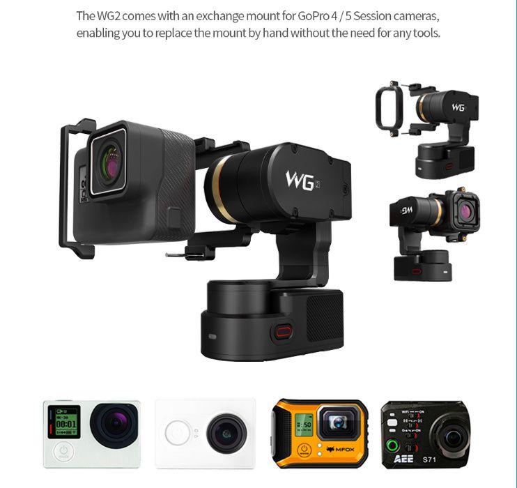 Estabilizador FeiyuTech WG2 para GoPro Hero 6/5/4, etc