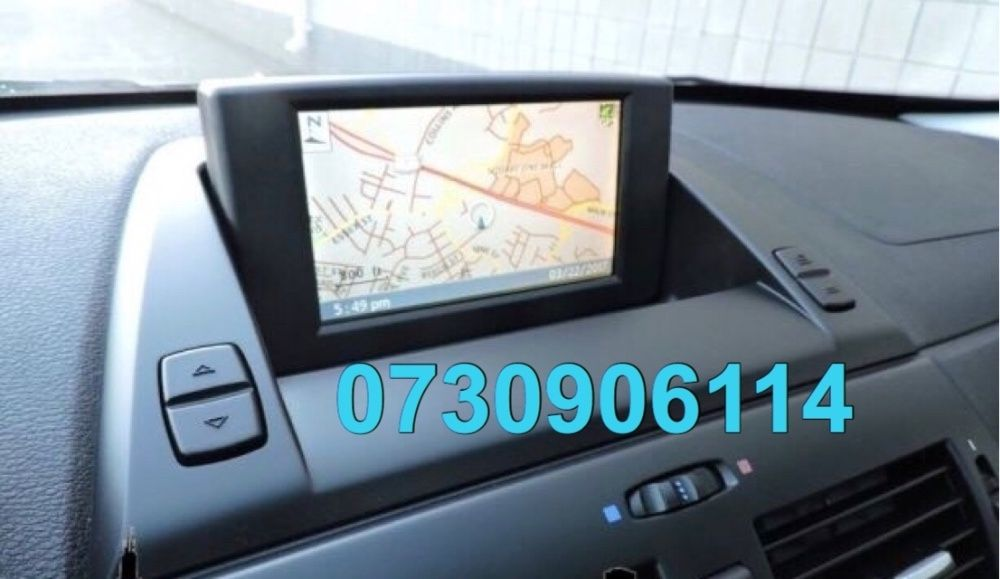 Harti Navigatie BMW X3 E83 DVD 2019 Romania + Europa Soft Limba Romana