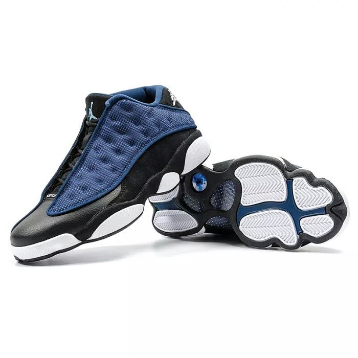 Jordan 13 rasa black blue