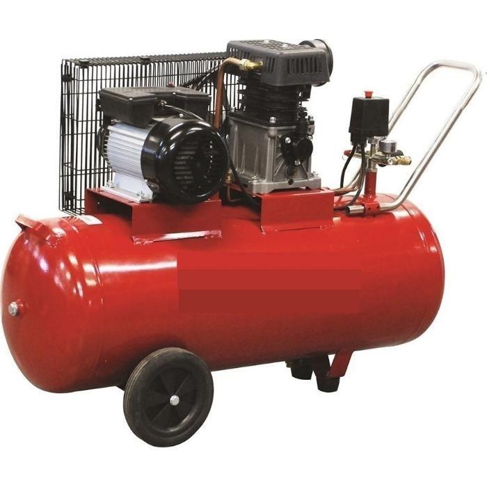 Компресор за Въздух Промишлен 100 литра , Усилен Дебит 370 л/мин гр. Велико Търново - image 2