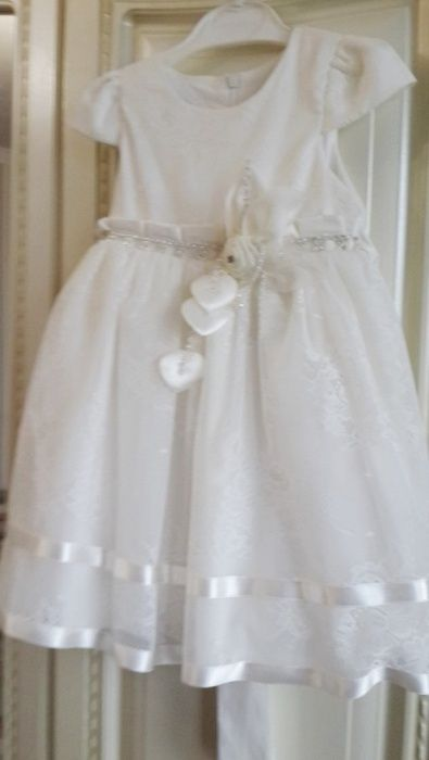 Платье для девочки (Айвори)