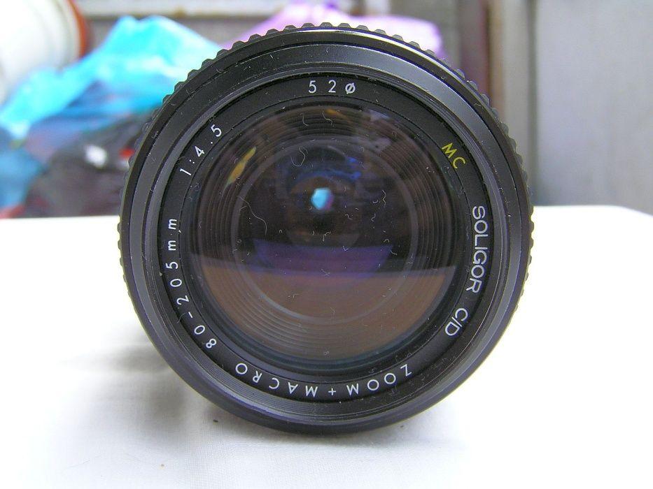 Zoom Soligor 80-205 4,5 baioneta Nikon