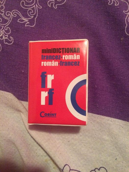 Minidictionar francez-roman, roman-francez , editura Corint