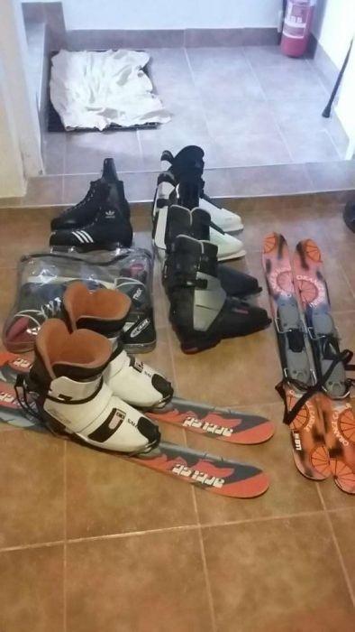 Schi ski si clapari...de adulti si copi usor de invatat