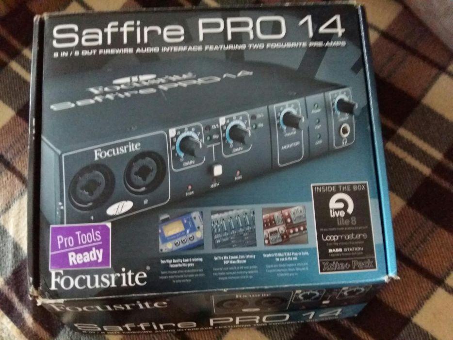 СРОЧНО Focusrite Saffire PRO 14 Звуковая карта