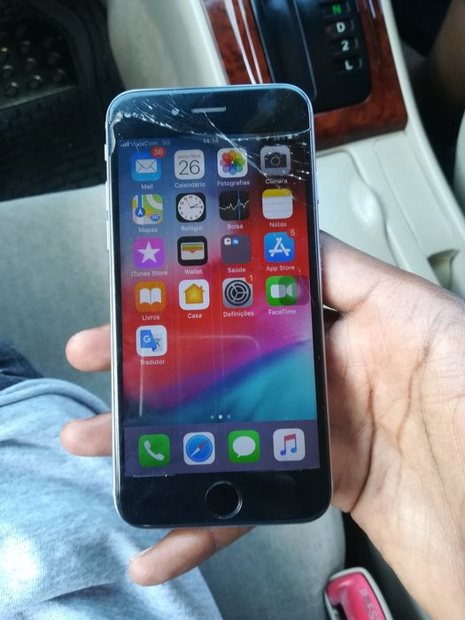iPhone 6 16GB No estado em que está FingerOff 6200mt