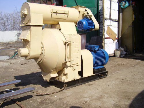Пелет-преса ОГМ - 1,5 в комплект, ел.двигател мощност 75 - 90 кВт