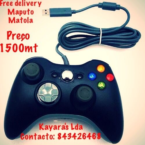 Para pc joystick 360 Xbox