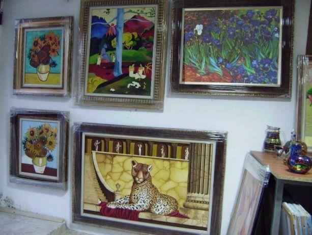 +-30% КОЛЕДНА ПРОМОЦИЯ картини рисувани с маслени бои в-у платно, за к