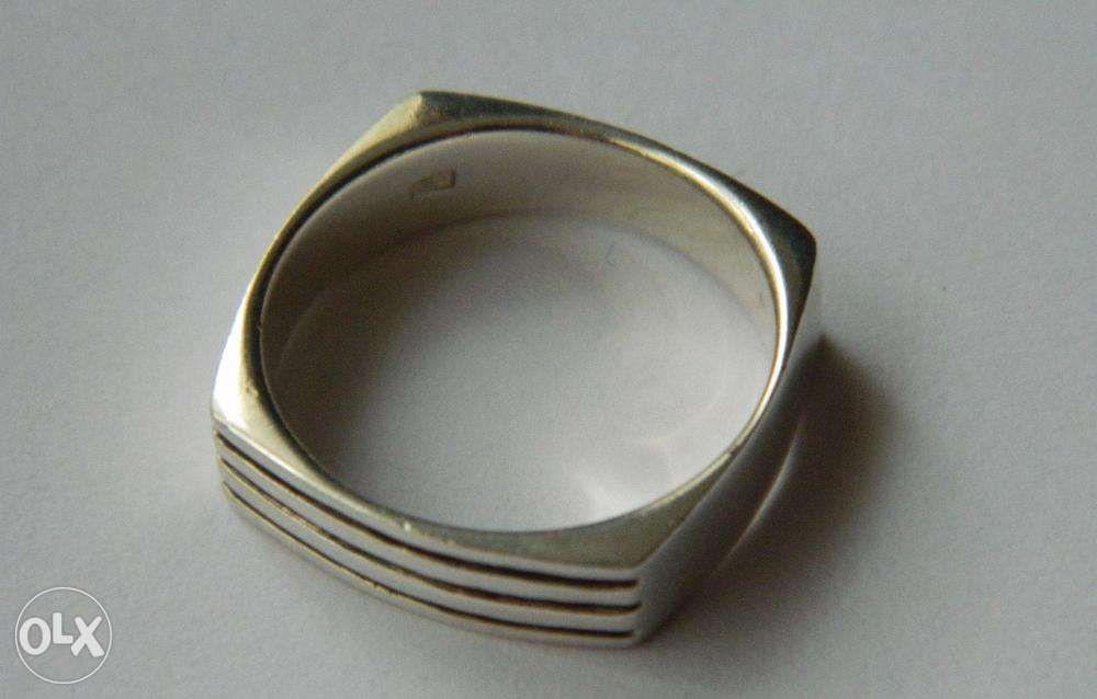 Z10,inel argint 925,nou/marcat,unisex,stil verigheta