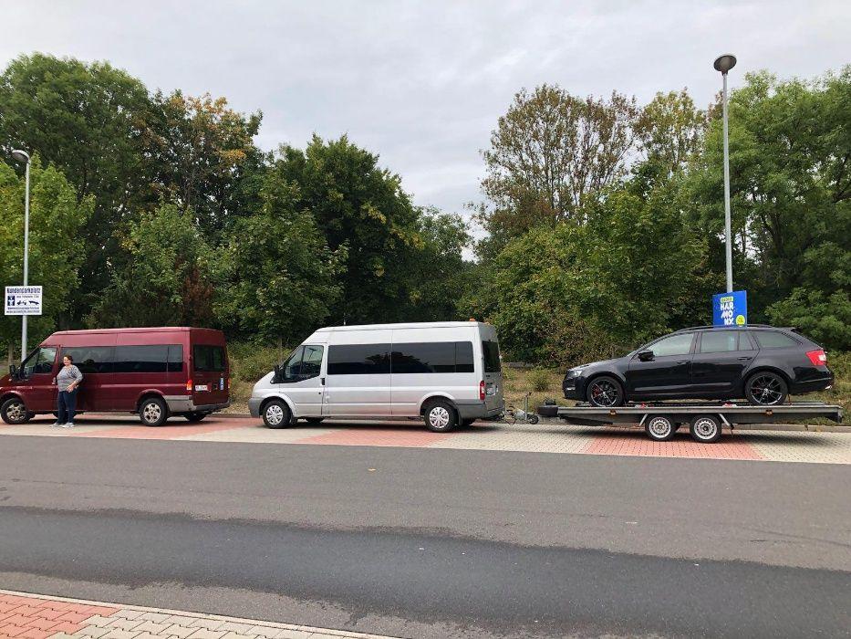 transport platforma Romania - Paris - Romania