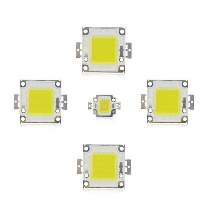 LED Putere 1W 3 W 10W 20 30 50 100W la 9-12V (> 100W reali) si 32-36V