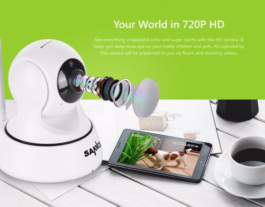 Промоция! Wi-Fi охранителна камера и бебефон