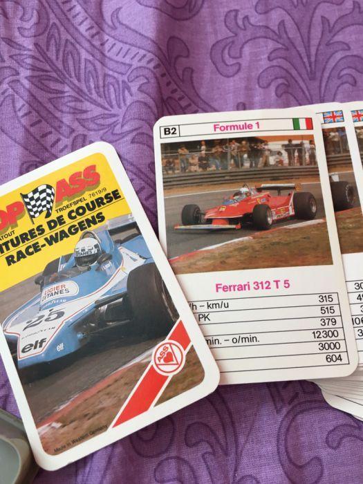 карти / стикери Формула 1 колекционерски
