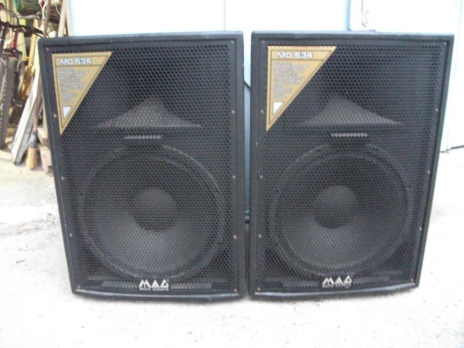 2 Boxe MAG MD 534 - 2 cai, Putere RMS 450 wati, Impedanta 8 ohmi