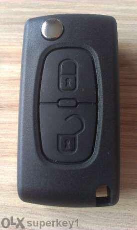 Кутийка за ключ на Пежо Peugeot 107, 207, 307, 308, 407, 408, 607,expe