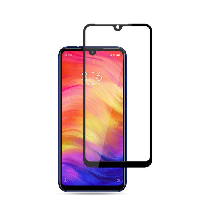 Закален удароустойчив 6D стъклен протектор за Xiaomi Redmi Note 7