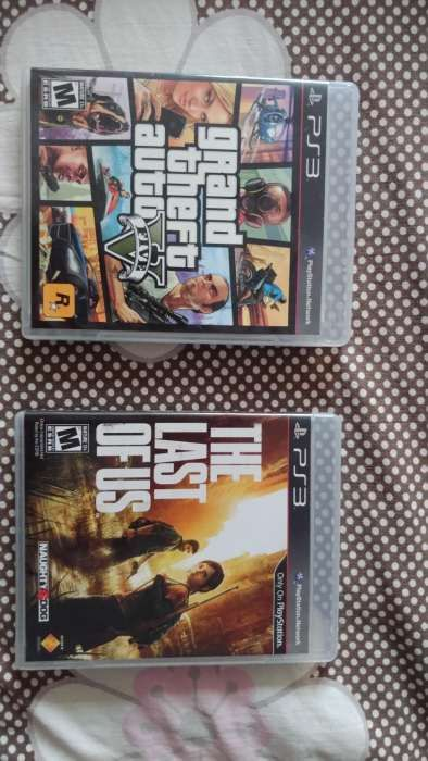 Last of Us + GTA V PS3