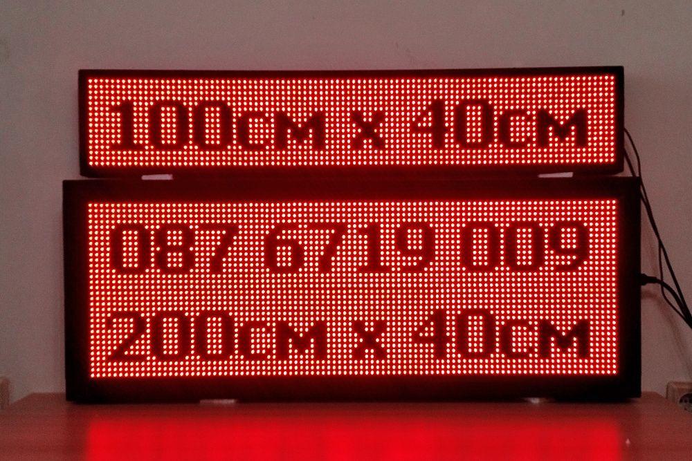 LED информационни табла, ЛЕД светеща реклама P10, рекламни табели гр. Пловдив - image 10