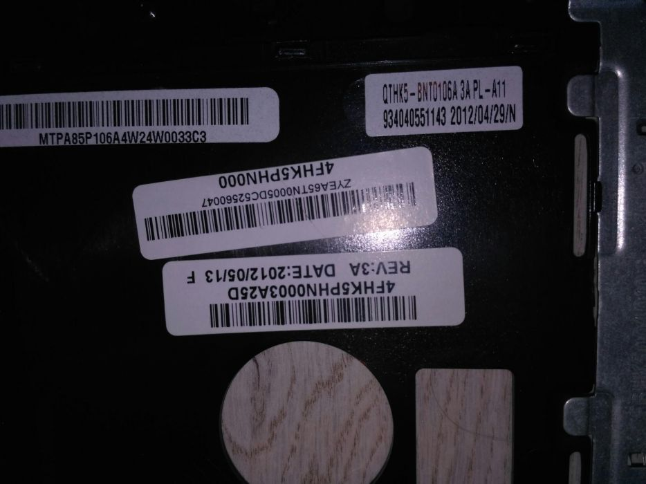 Carcasa partea superioara cu touchpad Sony Vaio