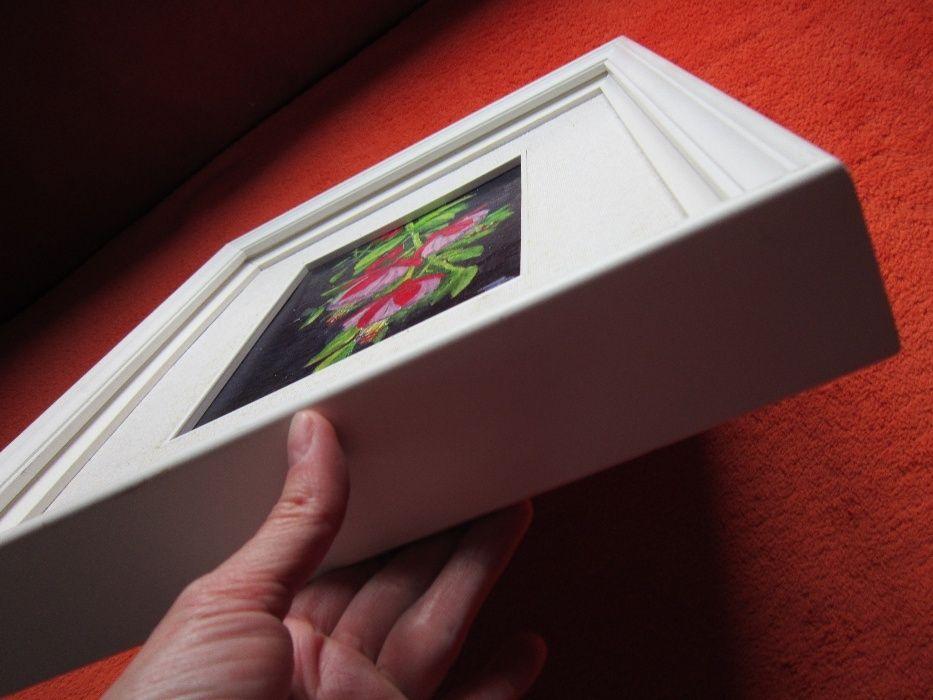 un Cadou Deosebit -Tablou Vintage, in ulei, semnat ,cu rama 3D de Lemn