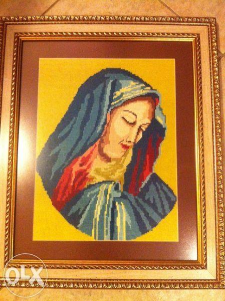 Уникален гоблен-МАЛКА Богородица