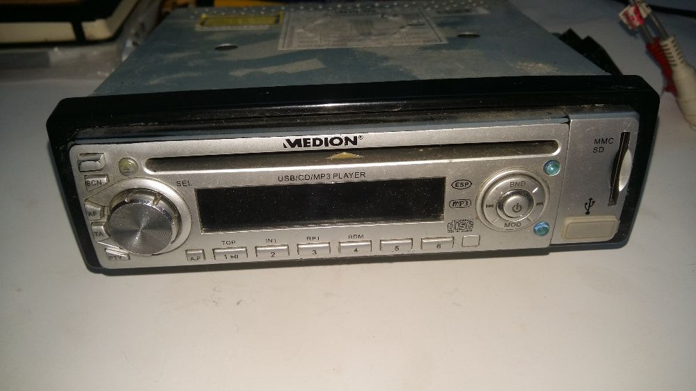 Radio/USB/CD/MP3/SDCard Player Medion MD 81460 Germany
