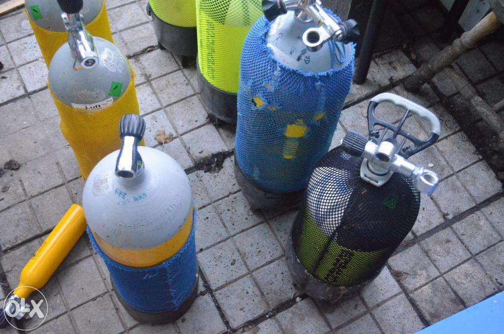 butelii Scuba 12 8 6 10 15 litri butelie