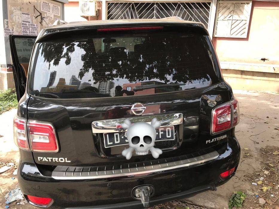 Vende-se viatura Nissan Patrol Platinum