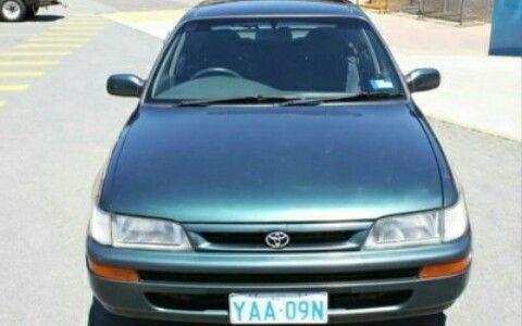 Toyota Corolla Rabo de pato